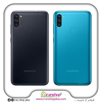 گوشی موبایل سامسونگ مدل Galaxy M11 دوسیم کارت ظرفیت 32/3 گیگابایت