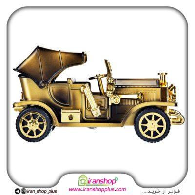 ماشین کلاسیک موزیکال کوکی و متحرک ، دارای جعبه جواهر