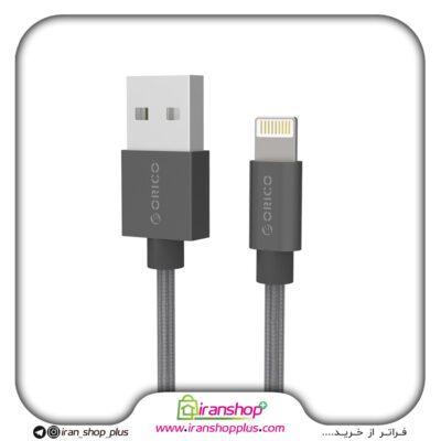 کابل شارژ و انتقال اطلاعات apple اپل مدل ORICO USB Lightning LTF-10